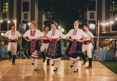 The magic of the Bulgarian dance